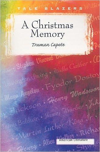 amazoncom a christmas memory tale blazers 8601422531107 truman capote books - A Christmas Memory Full Text