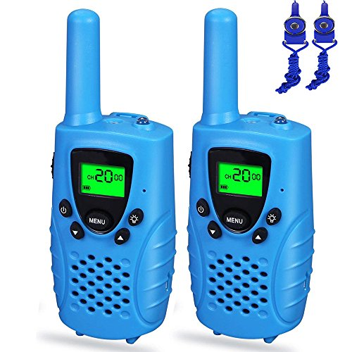 Toys for 3-12 Year Old Boys Girls, Dable Long Range Walkie Talkies for Kids 2018 Gifts for 3-12 Year Old Boy Gifts for 3-12 Year Old Girls Stocking Fillers Blue DBXJB02