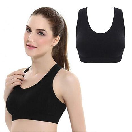 LSYYQX Sujetador Deportivo Estilo Moda Hot Ladies Patchwork ...