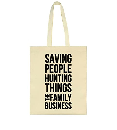 Idcommerce Saving People Hunting Things Family Business Design Tote