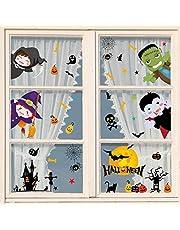 heekpek Halloween venster stickers vleermuizen spin stickers klampt zich vast spin herbruikbare stickers Halloween vinyl stickers venster stickers voor Halloween decoratie