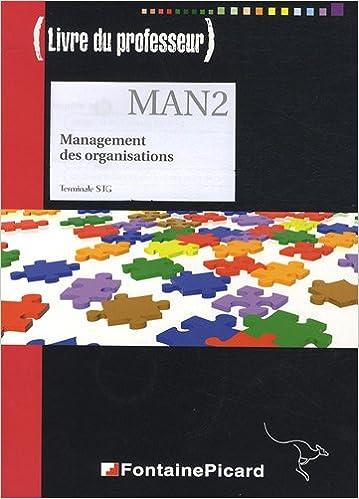 Management des organisations Terminale STG : Livre du professeur (1Cédérom) pdf