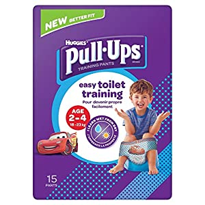 Huggies Day Time Boys Pull Ups, Pack of 15