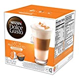 NESCAFÉ Dolce Gusto Coffee Capsules  Caramel Latte Macchiato  48 Single Serve Pods, (Makes 24 Specialty Cups) 48 Count