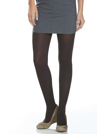 6038efb6ebca6 Jockey Women's Hosiery Opaque Tights, black, S at Amazon Women's ...