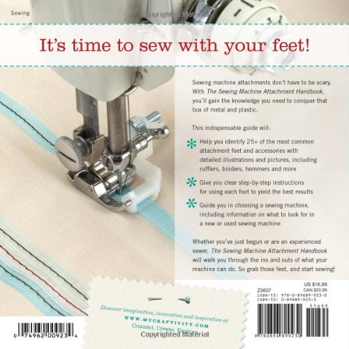 sewing machine attachment handbook