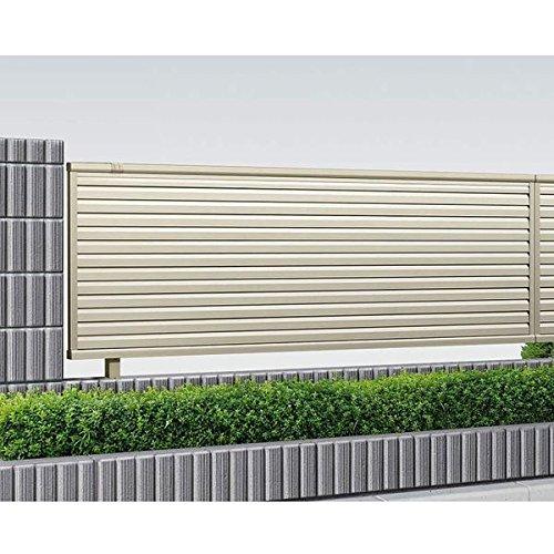 サビに強い YKK ap シンプレオフェンス13型 本体 T100 『高さ100cm用 目隠しルーバータイプ アルミフェンス 柵』  ホワイト B071F8HR8S 13310 本体カラー:ホワイト 本体カラー:ホワイト