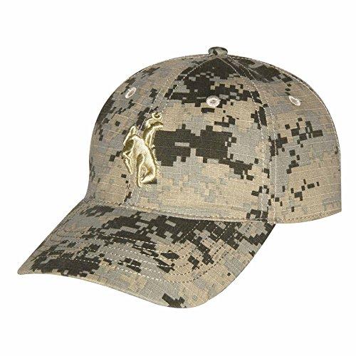 NCAA Wyoming Cowboys Adult Unisex Digital Camo CapAdjustable Size -