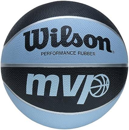 Wilson MVP Basketball - Pelota de Baloncesto, tamaño 7, Color Azul ...