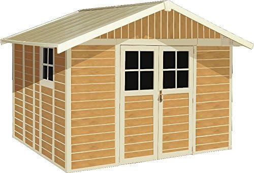 Caseta de jardín deco 11 Sherwood Grosfillex: Amazon.es: Bricolaje y herramientas