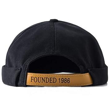 Clape Docker Leon Beanie Cap Beanie Hat Brimless Hat Sailor Cap Brim-Less  Rolled Cuff 9236e31ffd67