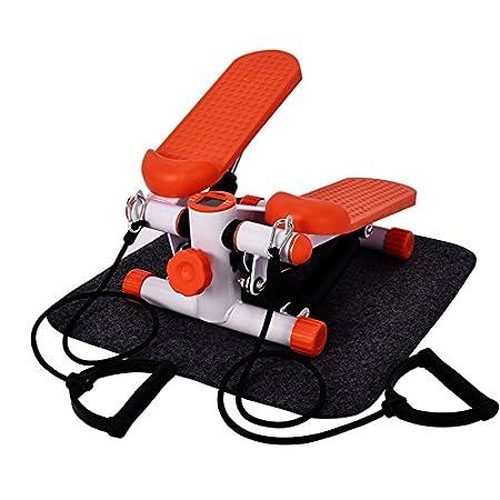 Homgrace Má quina de step lateral, Stepper Up-Down para Entrenamiento Deporte Interior Fitness, Carga má xima 100kg Carga máxima 100kg E358900