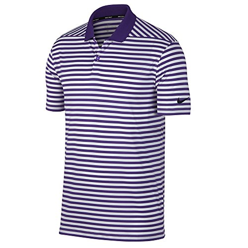 Court Men's Purple Stripe Black Nike Polo Victory White Dry 7XxBnYd