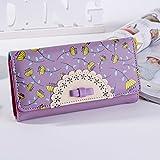 JD Million shop Wallet Three Folder Women Clutch Card Holder...
