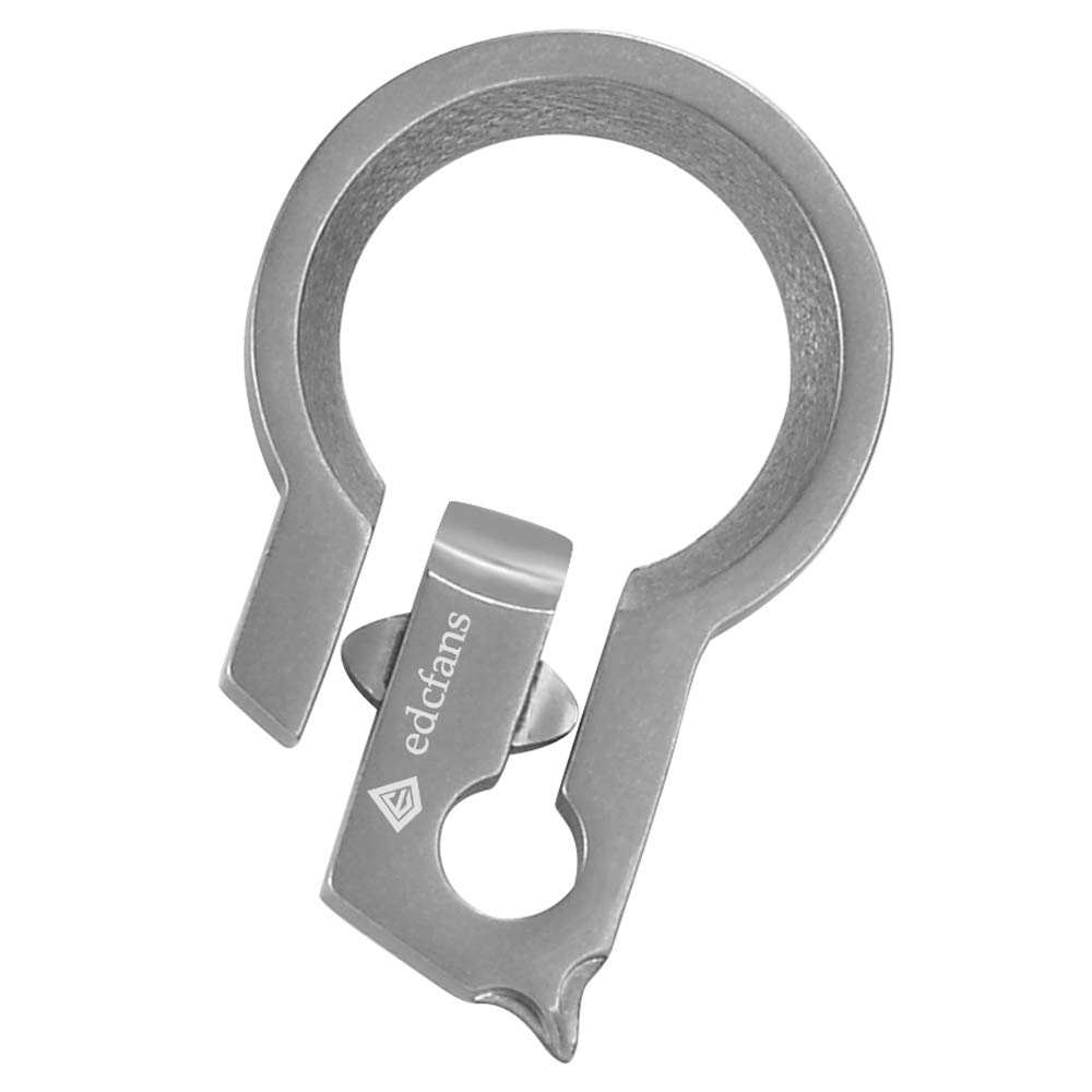 Edcfans Unique Keychain Bottle Opener with a Philips Screwdriver and Creative Quick Key Rings Release Mechanism Great EDC Gadget