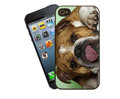 Chien Étui pour téléphone portable, design 1–British Bulldog–Housse pour Apple iPhone 5/5C/5S/�?by Eclipse idées cadeau