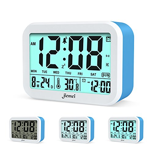 jiemei Digital Alarm Clock, Talking Alarm Clocks for for sale  Delivered anywhere in USA