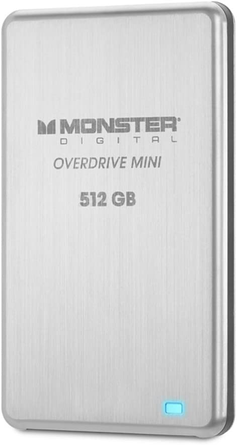 Monster Digital MONSSDMINI-512 Overdrive SSD - Disco Duro Externo ...