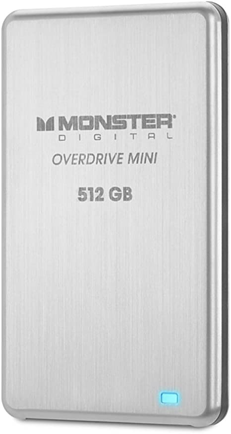 Monster Digital MONSSDMINI-512 Overdrive SSD - Disco Duro Externo ...