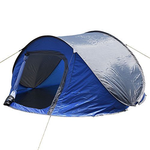 Waterproof Pop Up Shelter : Tangkula waterproof person camping tent automatic pop