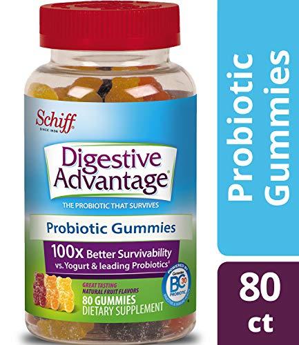 Digestive Advantage Probiotic Gummies - Survives Better than 50 Billion - 80 count