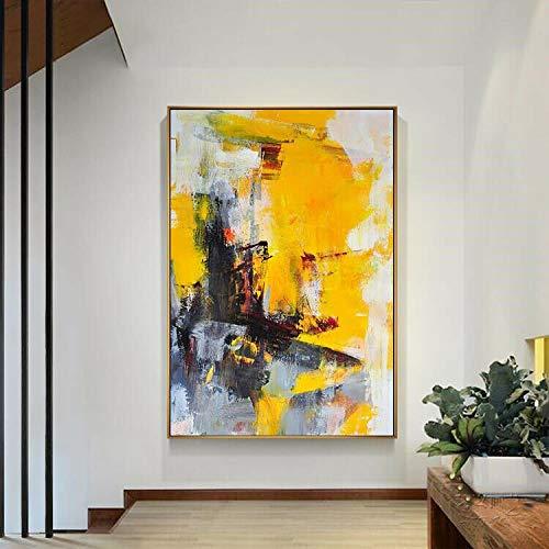 FidgetGear 手描きのキャンバス油絵壁アート家の装飾589 24×36インチ 24×36インチ  B07STTSPTP