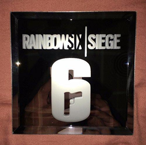 Rainbow Six Siege Logo Mirror by CooltrcDesigns