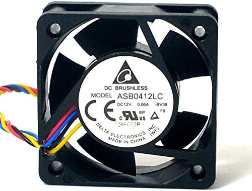 New for delta ASB0412LC 12V 0.06A 4CM 4015 4-wire axial case cooling fan