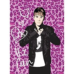 Amazon.com: Justin Bieber Purple Leopard Design Royal ... - photo #2