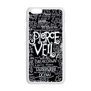 JIANADA Pierce the veil Phone Case for iPhone plus 6 Case