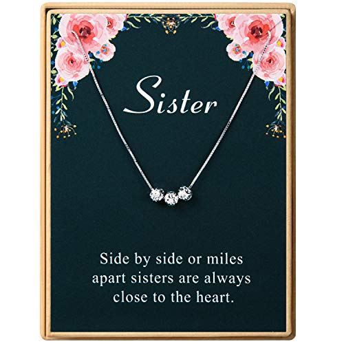 Necklace Delicate Friendship Sterling Birthday product image