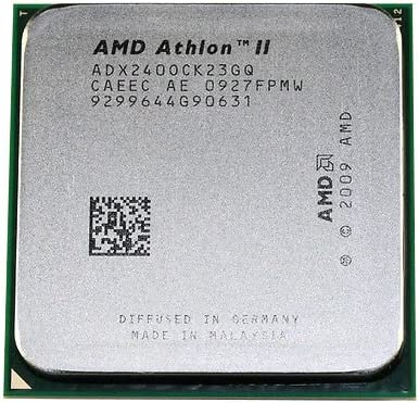Amazon Com Amd Athlon Ii X2 240 2 8ghz 2mb Dual Core Cpu Processor Socket Am2 Am3 938 Pin 65w Computers Accessories
