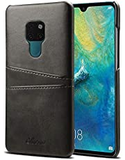 Elehome Slim PU Leather Back Case for Huawei P20 Series/Mate 20 Series/P30 Series