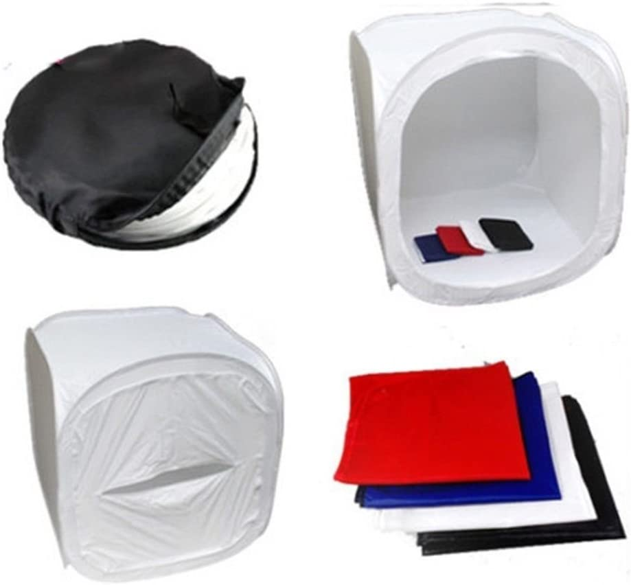 Shoes Photography Etc 80 80 80,for Jewellery HWENJ Photo Studio Tent Photography Studio Kit, Portable Photo Studio Box Folding Shooting Tent Kit, Size Food