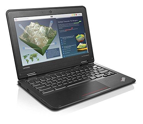 "Lenovo 11.6"" Chromebook Intel Celeron 4GB Memory 16GB eMMC Flash Memory Graphite black 20GF0003US"