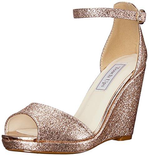Rose En Coin Retouches Femmes Or De Sandale Sandale Retouches Houx 4zwPq6q