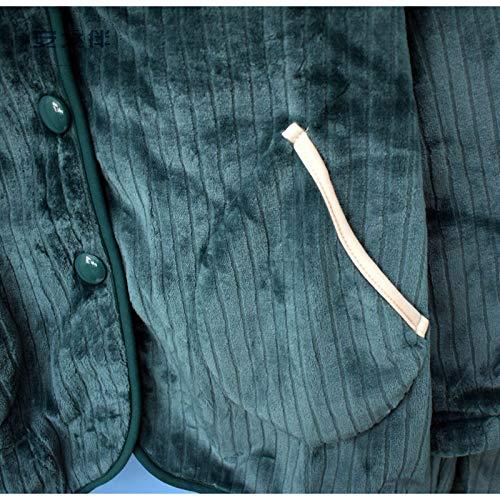 Grueso Traje E Pijamas Xl162 Hembra Pajamasx Lindo De Coral 47 168cm L158 57kg Domicilio Franela Cálido Invierno 65kg A 164cm Otoño Terciopelo 58 Acolchado Servicio t04qqw7F