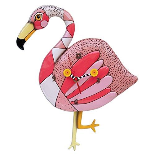 Allen Designs Crazy Legs Flamingo Pendulum Clock by