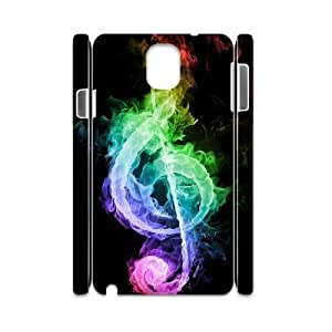 JFLIFE Clef Music Phone Case for samsung galaxy note3 3D Shell Phone [Pattern-1]