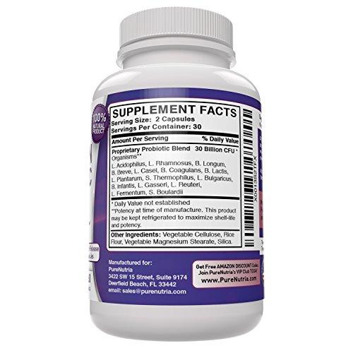 Probiotic 30 Billion Cfu 15 Strains Of The Best 100