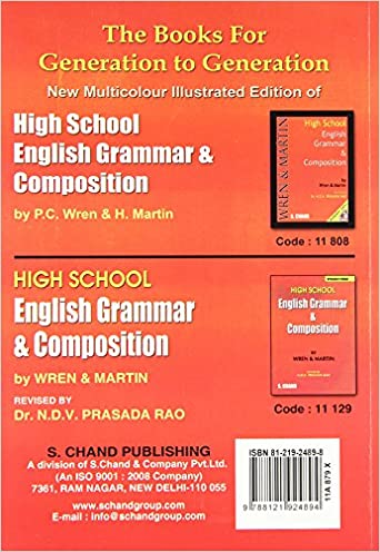 Key to High School English Grammar and Composition: P.C. Wren, H ...