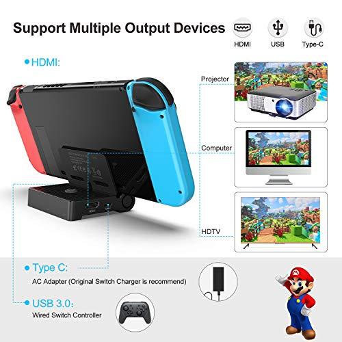 Dock portátil TV para Nintendo Switch