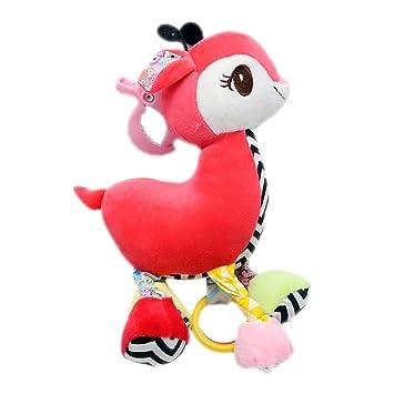 per Peluches Colgadores para Carrito y Cunas para Bebés Infantiles Muñecos de Felpa de Animales de Dibujo Animado Adornos Infantiles: Amazon.es: Hogar