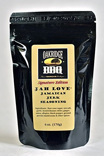 Oakridge Signature Edition Jah Love Jamaican Jerk Seasoning (6 oz) (Rub Jerk)