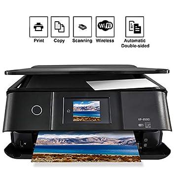 TANCEQI A4 6 Colores Impresora Multifunción de Inyección de Tinta ...