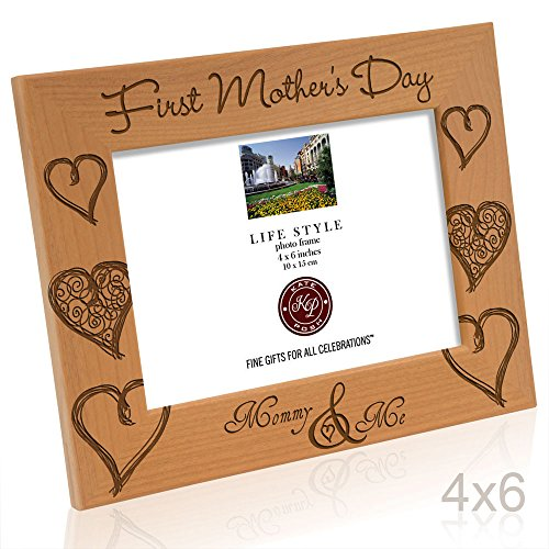 Kate Posh - First Mother\'s Day with Mommy & Me Picture Frame (4x6 ...