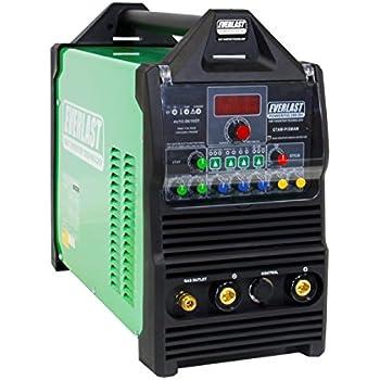 2019 Everlast PowerTIG 200DV 200amp 110/220 Dual Voltage PULSE ACDC Welder