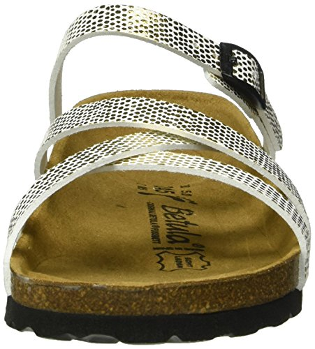 Mules Bf Betula Cross Mirror Gold Buckle Stripes Femme Or pqggwxz4nT