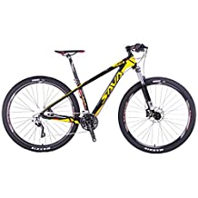 "SAVADECK DECK300 Carbon Fiber Mountain Bike 27.5""/29"" Complete Hard Tail MTB Bicycle 30 Speed SHIMANO M610 DEORE"