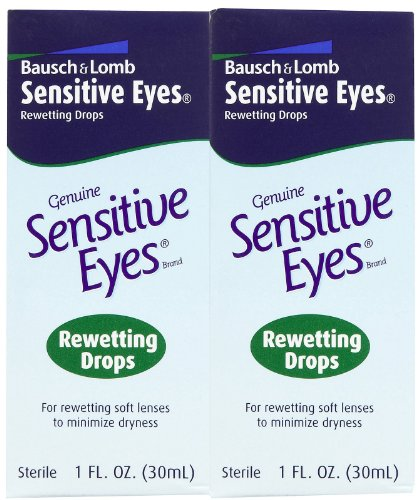 Bausch Lomb Sensitive Rewetting Lenses 1 product image